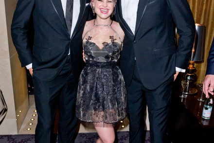 Zac Stenmark, Kelly Osborne & Jordan Stenmark