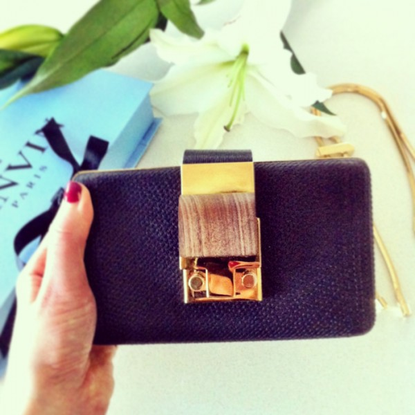 My Lanvin clutch for the InStyle Women of Style Awards, last Tuesday.