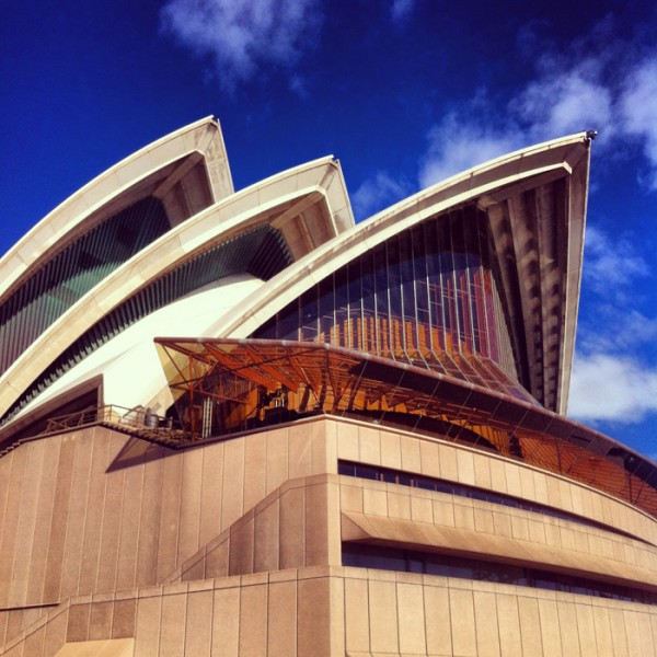 I attended the Bespoke luxury business and fashion summit, held at Sydney Opera House on Thursday.