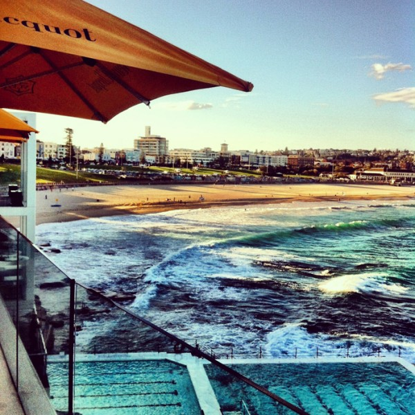 I attended the J Brand Jeans press lunch at Bondi Icebergs on Friday.