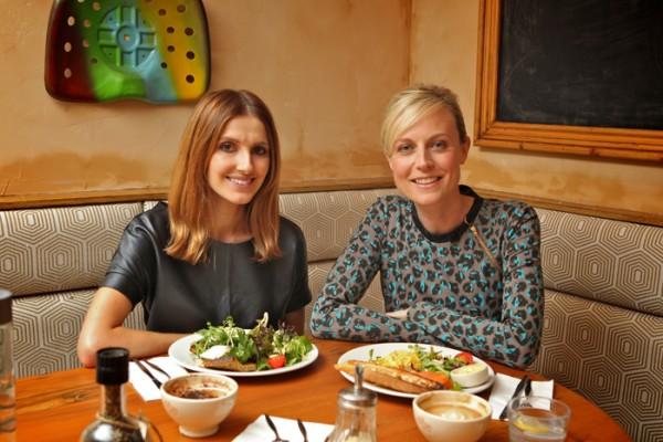 Breakfast with Marta Dusseldorp.