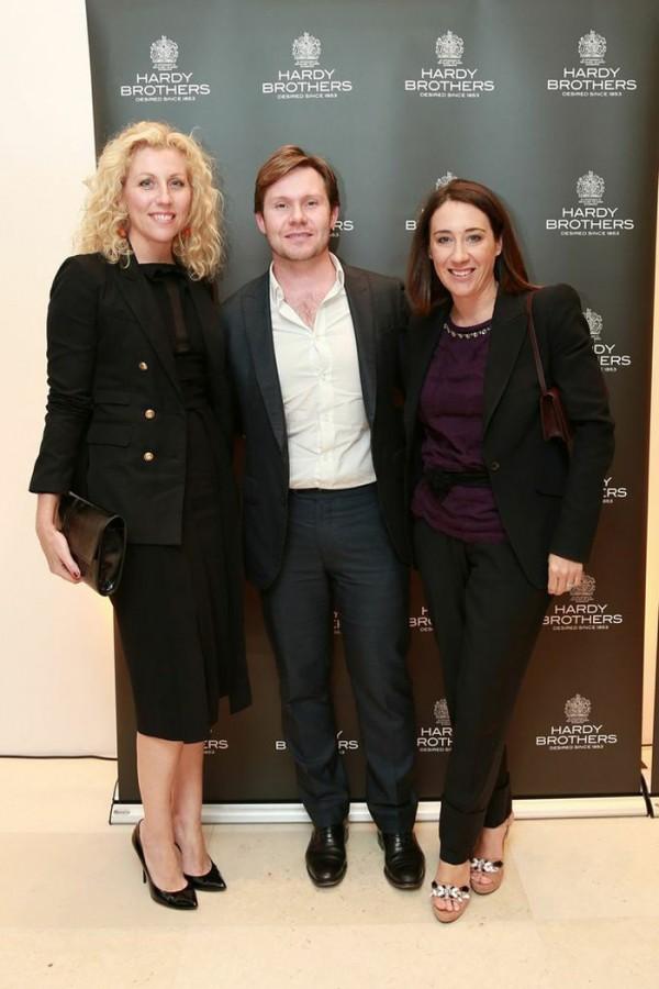 Kerrie McCallum, Nick Smith and Edwina McCann.