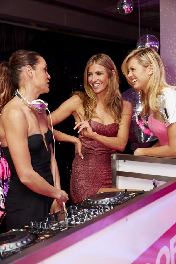 Leah Simmons, Laura Csortan and Jesinta Campbell.