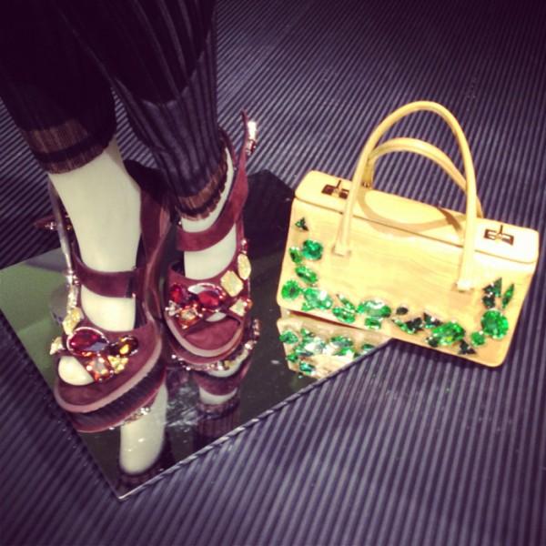 Prada SS14 accessories.