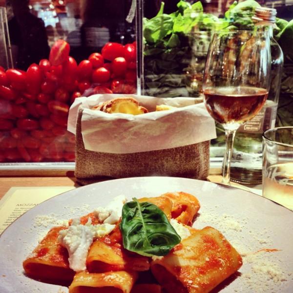 Lunch at Obika Mozzarella Bar - Rinascente