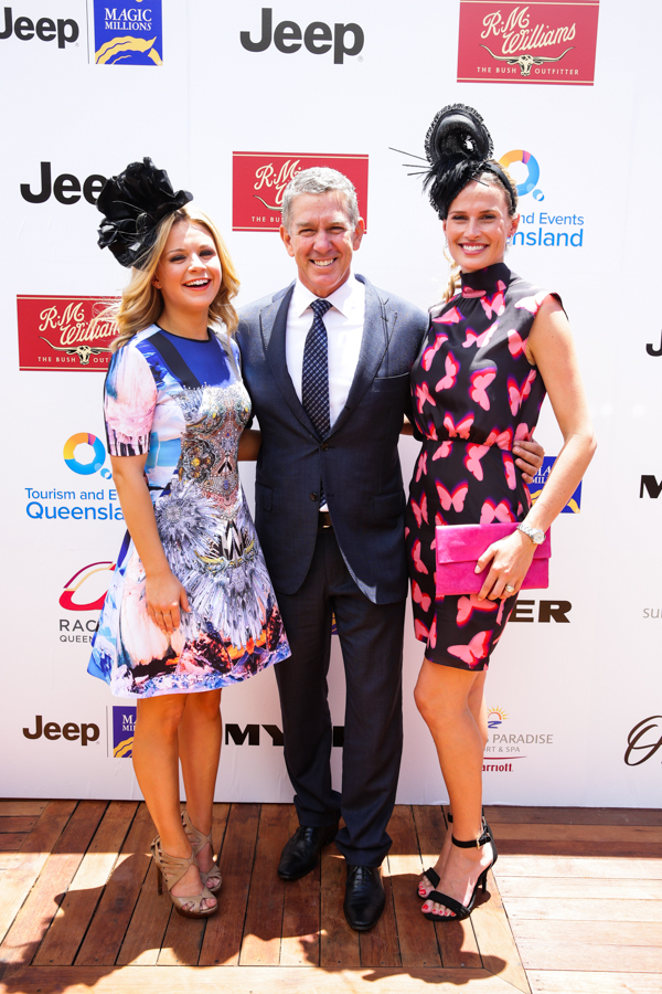 Emma Freedman, Cameron Williams & Francesca Cumani.