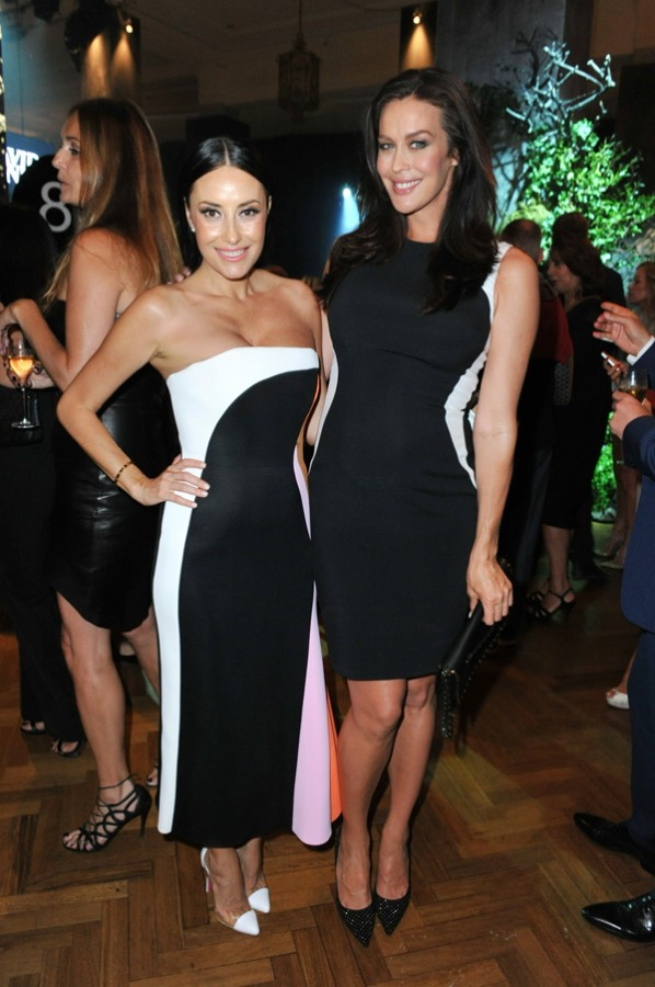 Terry Biviano & Megan Gale.