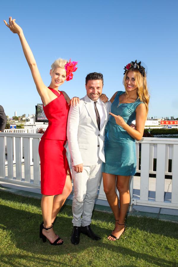 Kate Peck, Aurelio Costarella & Laura Dundovic.