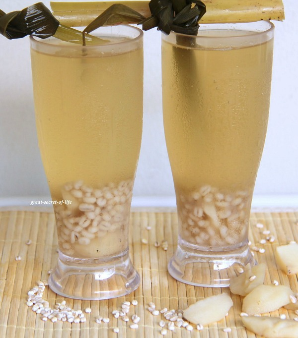 water chesnut and barley water 0003