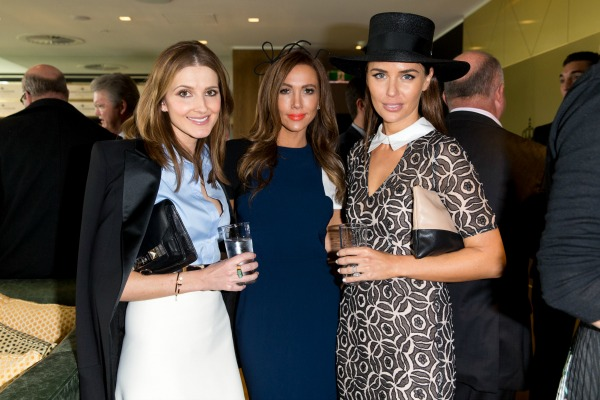 At the Sydney Spring Carnival launch with Kyly Clarke and Jodi Anasta.