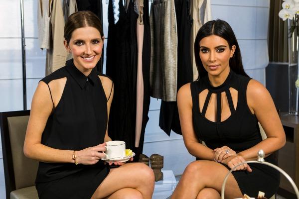 Tea session with Kim Kardashian