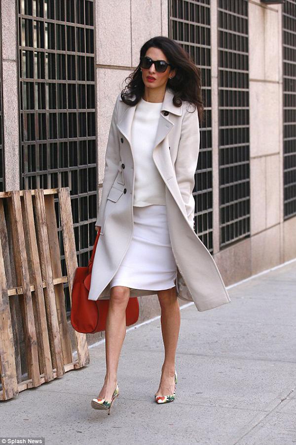 Celeb Look Of The Week Amal Clooney Kate Waterhouse