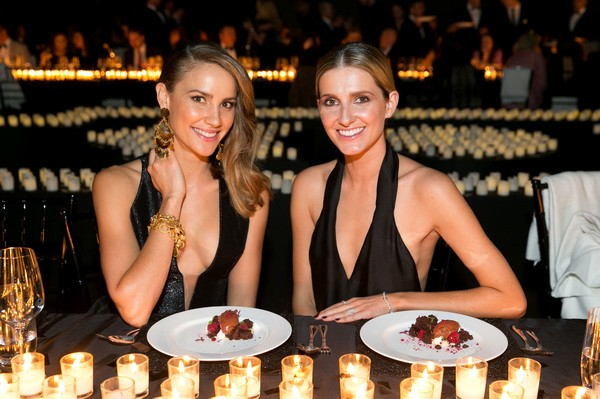 Dinner with Rachael Finch at the Lexus Prix de Marie Claire Awards. Photo: Cybele Malinowski