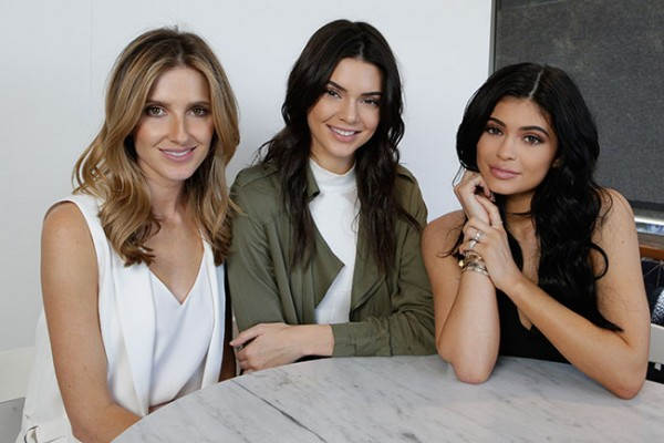 Lunch with Kendall and Kylie. Photo: Lucas Dawson.
