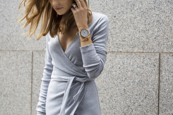 Stylesnooperdan Kate Waterhouse Grey wrap 1
