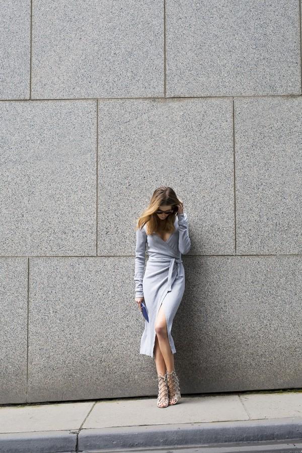 Stylesnooperdan Kate Waterhouse Grey wrap 10