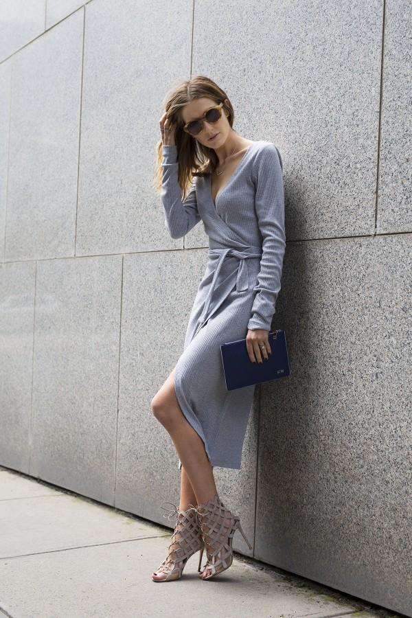 Stylesnooperdan Kate Waterhouse Grey wrap 12