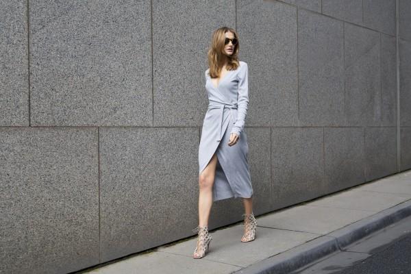 Stylesnooperdan Kate Waterhouse Grey wrap 14