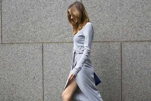 Stylesnooperdan Kate Waterhouse Grey wrap 4
