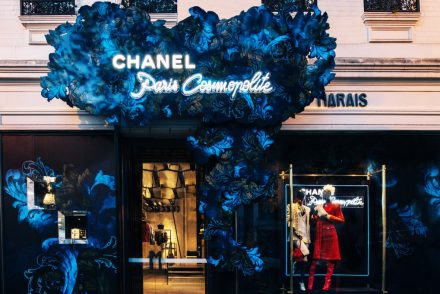 Chanel at Marais boutique store front Melbourne