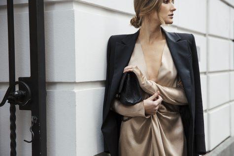 Kate Waterhouse Chanel at Marais boutique launch Melbourne balmain blazer bec and bridge chanel bag 8