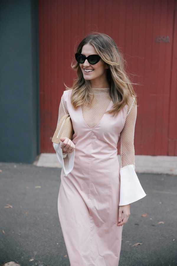 Kate Waterhouse kowtow dress dusty pink 4