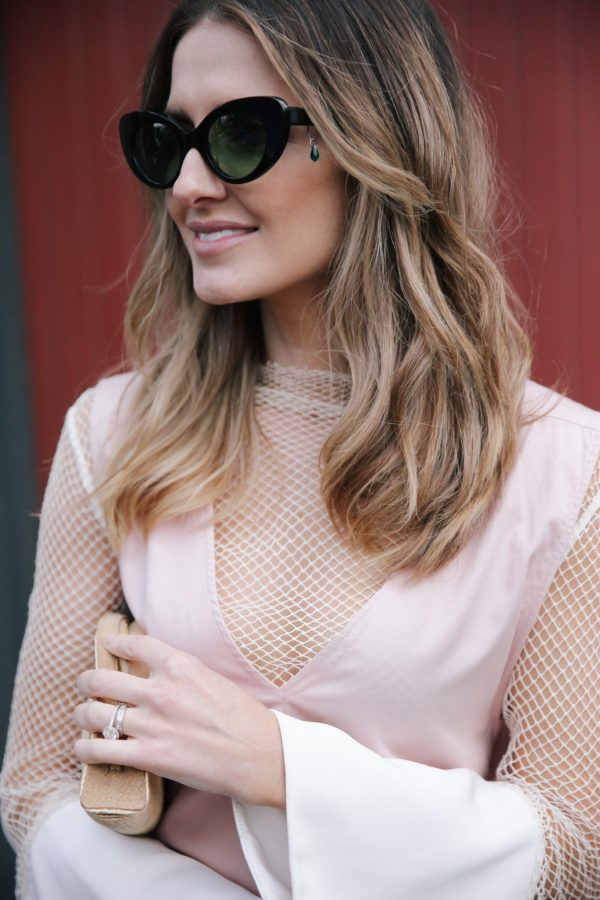 Kate Waterhouse poms sunglasses