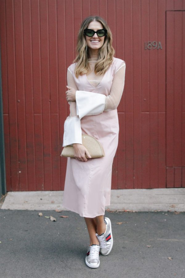 Kate Waterhouse kowtow dress dusty pink 6