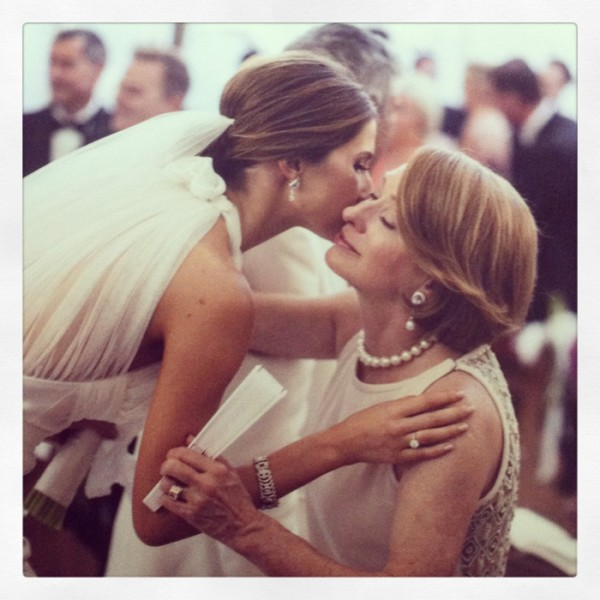 Happy Mother's Day! My favourite pic of me and mum on my wedding day.