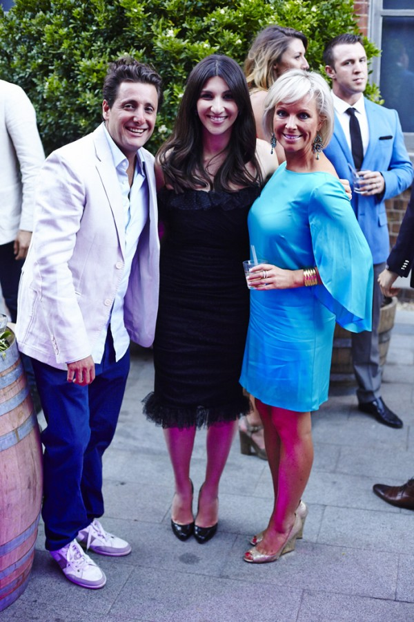 Nick Diamond, Hoda Waterhouse and Shelley Barrett.