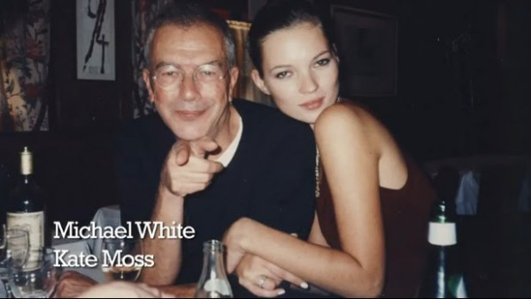 MIchael and Kate Moss