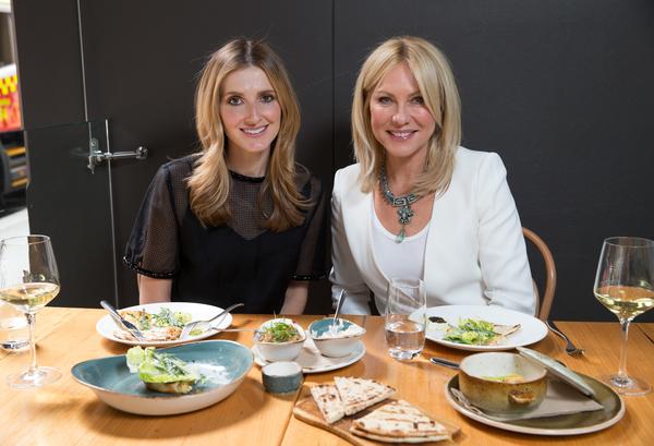 Date With Kate: Kate Waterhouse and Kerri-Anne Kennerley in Alpha, Sydney. 10th September 2015 Photo: Janie Barrett