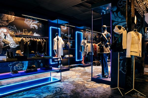 Chanel at Marais pop-up in Melbourne boutique interior