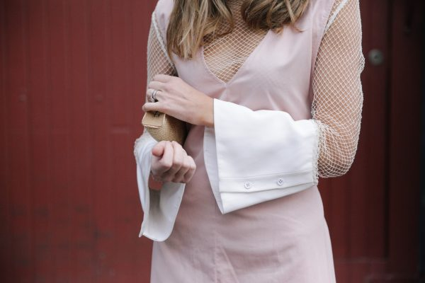 Kate Waterhouse kowtow dress dusty pink 5