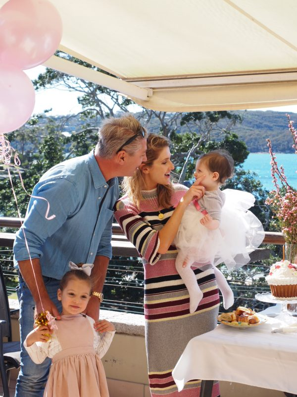 Kate Waterhouse daughter Grace first birthday party