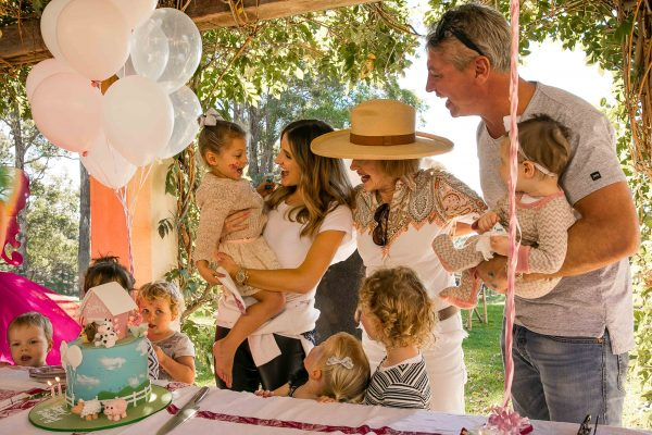 Kate Waterhouse daughter Sophia third birthday party