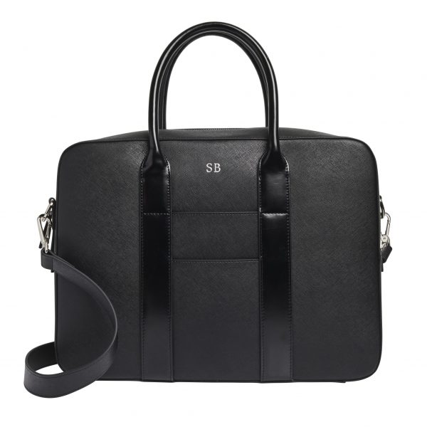 The Daily Edited x Dion Lee black messenger bag