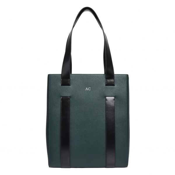 The Daily Edited x Dion Lee khaki tote bag